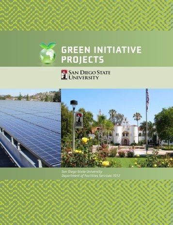 GREEN INITIATIVE PROJECTS - SDSU - San Diego State University