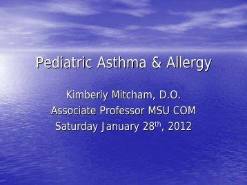 Pediatric Asthma & Allergy