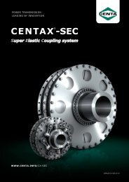 CENTAX®-SEC - Industrial and Bearing Supplies