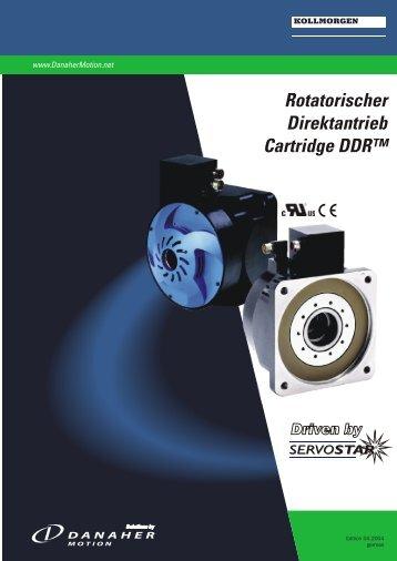 Rotatorischer Direktantrieb Cartridge DDR™ - BIBUS SK, sro