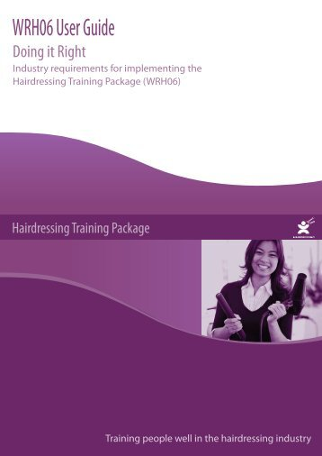WRH06 User Guide - Service Skills