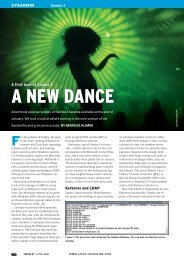 A NEW DANCE - Linux Magazine