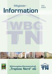"""16.08.2003 Wünsdorf - Wohnungsbau-Genossenschaft """"Treptow ..."""