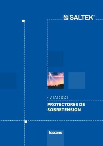 CATALOGO PROTECTORES DE SOBRETENSION