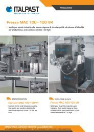 Pressa MAC 100 - 100 VR - Italpast