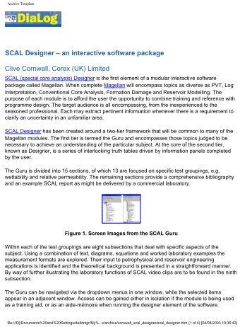 SCAL Designer