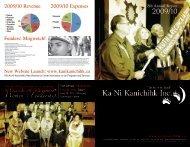 2009-2010 Annual Report - Ka Ni Kanichihk