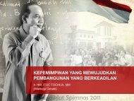 Pusdiklat Spimnas 2011 - Pusdiklat SPIMNAS Bidang Kepemimpinan