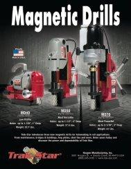 Mag Drill Flyer - Trak-Star Rail Drills