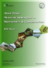 Hong Kong Headline Indicators for Biodiversity ... - Civic Exchange
