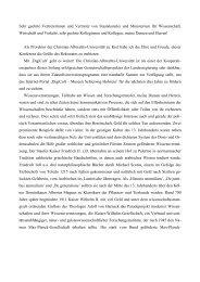 Grußworte Prof. Gerhard Fouquet - digicult-sh.de