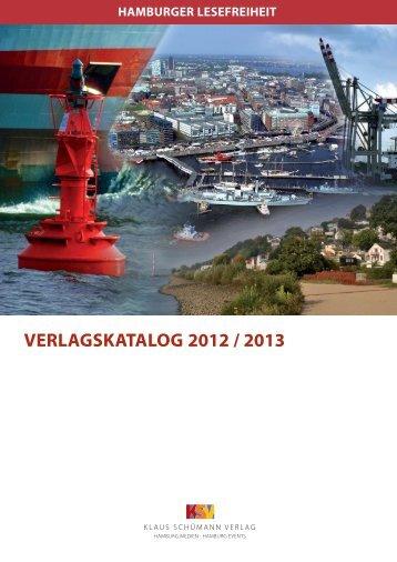 hamburger sonderbände - Klaus Schümann Verlag