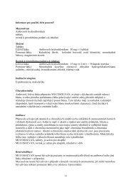 Mucosolvan tablety, roztok - Dr. Max Lékárna