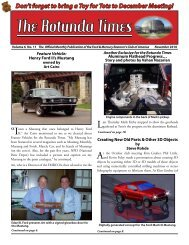 Don't Forget To Bring A Toy For - Ford & Mercury Restorers Club of ...