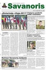 Gintarinėje viltyje-2011 - Krašto apsaugos ministerija