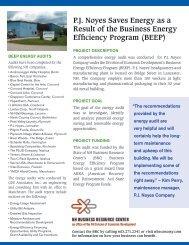 P. J. Noyes - New Hampshire Division of Economic Development