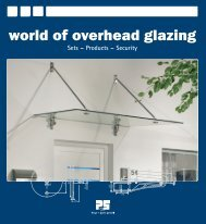 world of overhead glazing Sets – Products