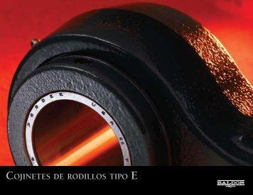 COJINETES DE RODILLOS TIPO - Baldor