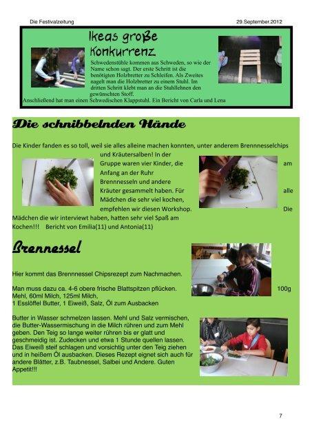 Festivalzeitung - Du-bist-online.de