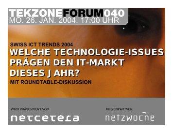 Trends 2004 - TekZone