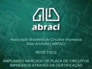 Indústria de Circuitos Impressos - ABRACI - Associação Brasileira ...