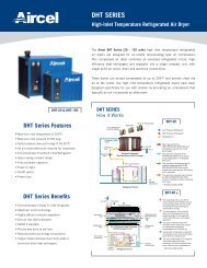 DHT Series - Refrigerated Dryer - Fluid Energy