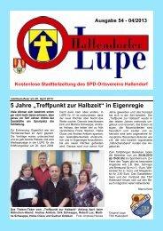 LUPE54-Online - SPD-Hallendorf