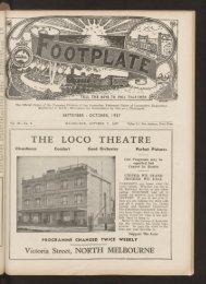The Footplate: vol. 20, no. 9 (September-October, 1937)