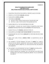 Health Examination Report Form - TATI University College