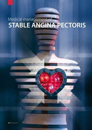 Medical Management Of STABLE ANGINA PECTORIS - Bpac.org.nz