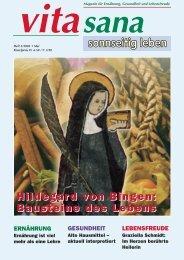 Hildegard von Bingen: Bausteine des Lebens Hildegard von Bingen ...