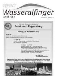 Wasseralfinger Anzeiger KW 42 vom 17. Oktober ... - Wasseralfingen