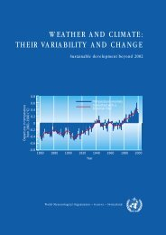 WEATHER AND CLIMATE: THEIR VARIABILITY ... - E-Library - WMO