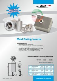 Mold Components - DME