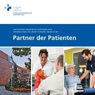 Partner der Patienten - Katholisches Krankenhaus Dortmund-West