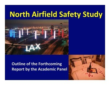 North Airfield Safety Study