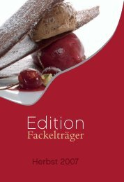 Edi ion - Fackelträger Verlag Gmbh