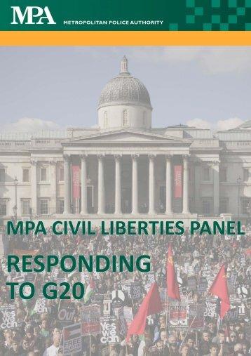 Responding to G20