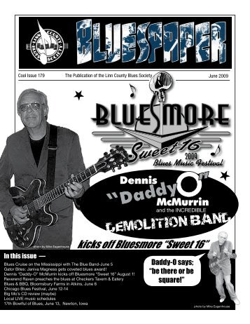 "kicks off Bluesmore ""Sweet 16"" - Linn County Blues Society"
