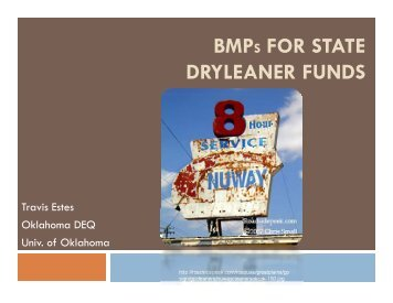 Travis's presentation (PDF) - State Coalition for Remediation of ...