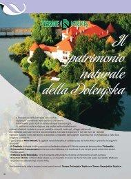 Il patrimonio naturale della Dolenjska