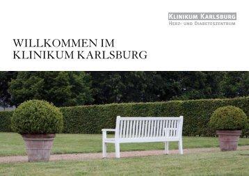 willkommen im klinikum karlsburg - bei der Klinikgruppe Dr. Guth