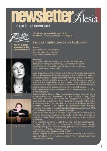 (13) 27 - 30 kwietnia 2009 1 - Silesia