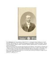 Stationsförman. Född 1878-12-11 i Kattagård, Hössjö ... - Hem