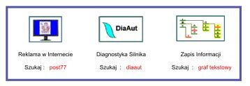 post77 Szukaj : diaaut Szukaj : graf tekstowy - Diagnostyka Silnika