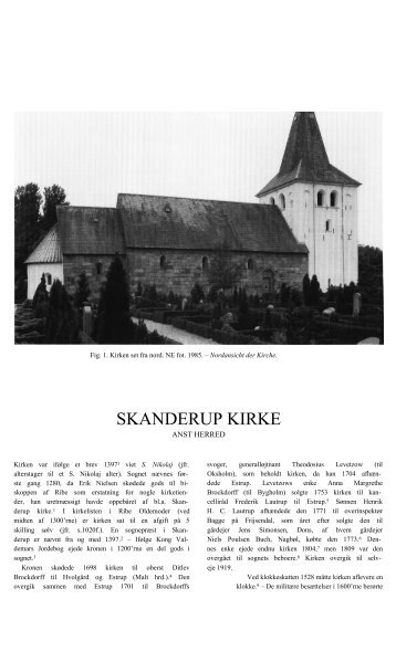 SKANDERUP KIRKE - Danmarks Kirker