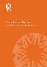 Principles into Practice - Handicap International