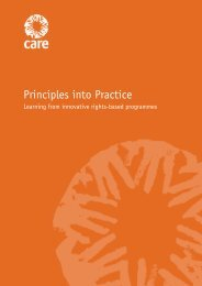Principles into Practice - Handicap International