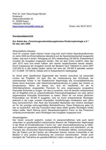 Jahresbericht 2009 - Siegelonline.de
