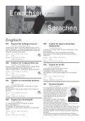 KURSPROGRAMM Frühjahr 2009 - VHS Horn - Page 4